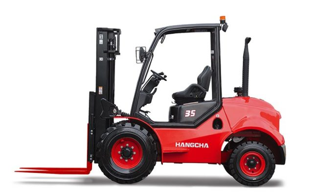 2.5-3.5t Two-Wheel Drive Rough Terrain Forklift Truck.2