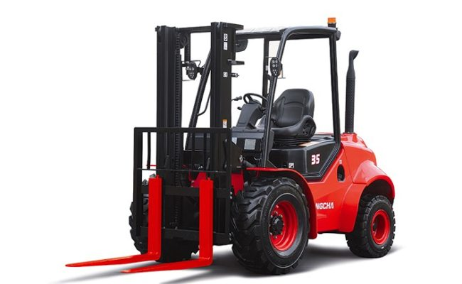 2.5-3.5t Two-Wheel Drive Rough Terrain Forklift Truck.3