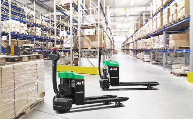 A Series 1.52.0t Mini Walkie Pallet Truck, Li-Ion.16