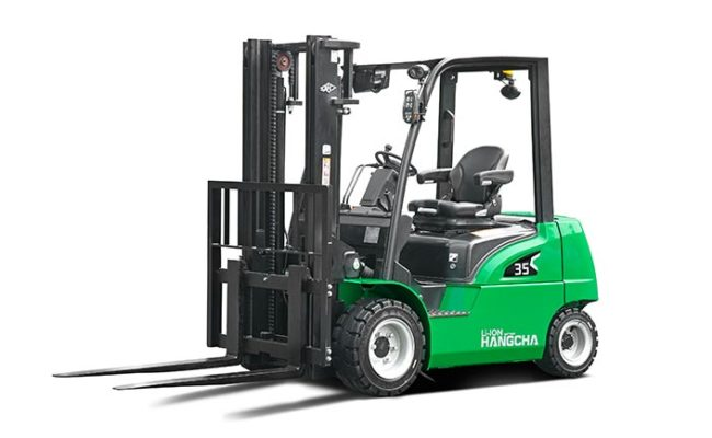 XC series electric forklift with Li-Ion power 2.0~3.5t. 1