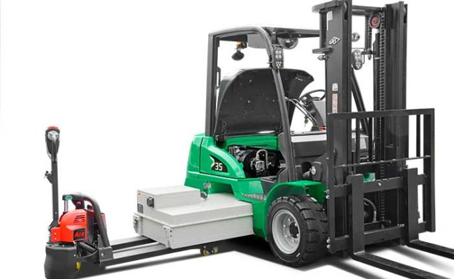 XC series electric forklift with Li-Ion power 2.0~3.5t. 13
