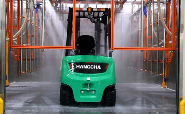 XC series electric forklift with Li-Ion power 2.0~3.5t. 14