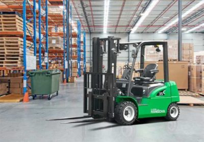 XC series electric forklift with Li-Ion power 2.0~3.5t. 16