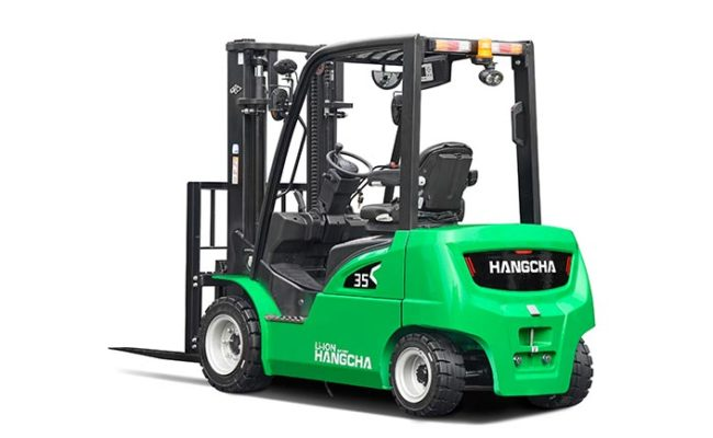 XC series electric forklift with Li-Ion power 2.0~3.5t. 2