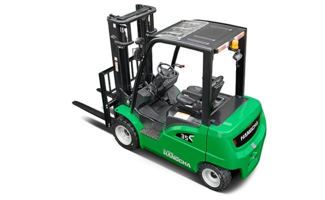 XC series electric forklift with Li-Ion power 2.0~3.5t. 4