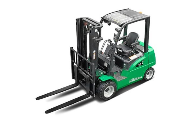 XC series electric forklift with Li-Ion power 2.0~3.5t. 5