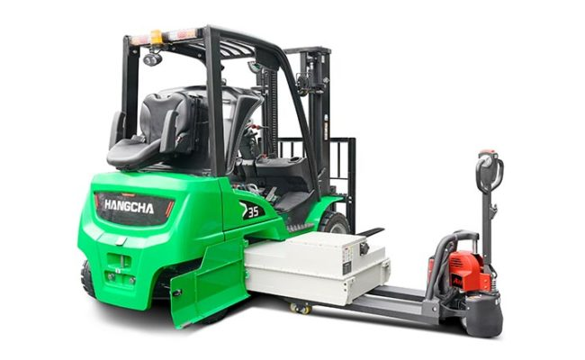 XC series electric forklift with Li-Ion power 2.0~3.5t. 6