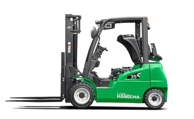 XC series electric forklift with Li-Ion power 2.0~3.5t. 7